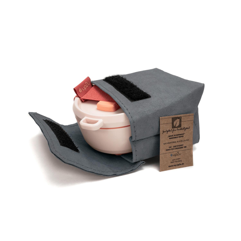 Tasche-mit-klettverschluss-aus-Papier-farbe-mud